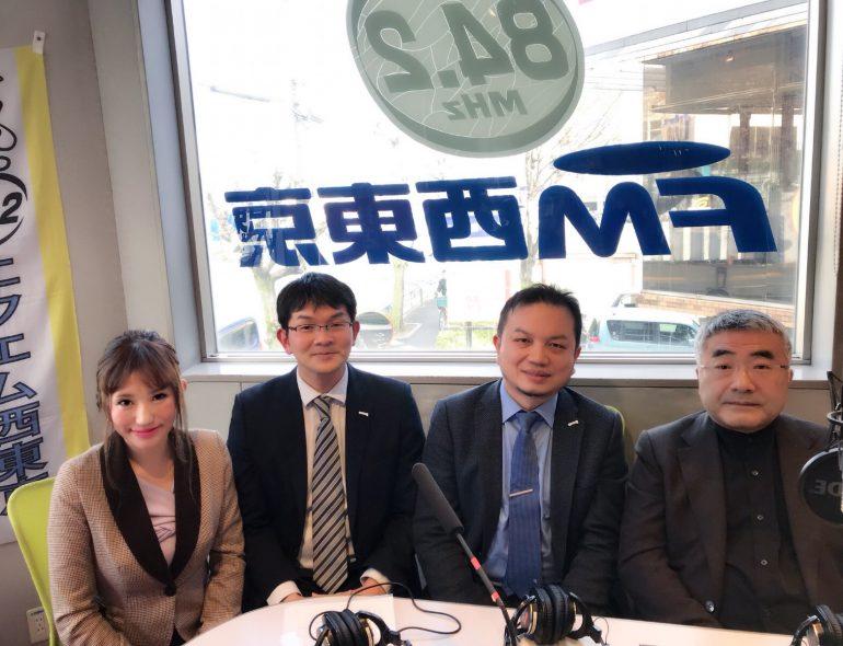 西村さん、松岡さん、アンディさん、河内谷 敏 先生