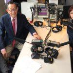 アンディさん、福田愛作先生、西村さん、松岡さん