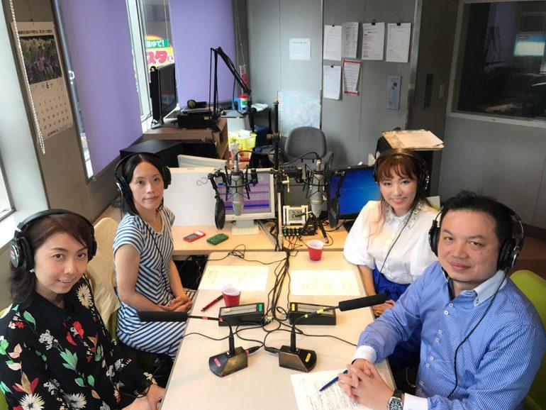 黒田朋子さん、沙緒里さん、西村さん、アンディさん
