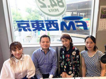 西村さん、アンディさん、黒田朋子さん、沙緒里さん