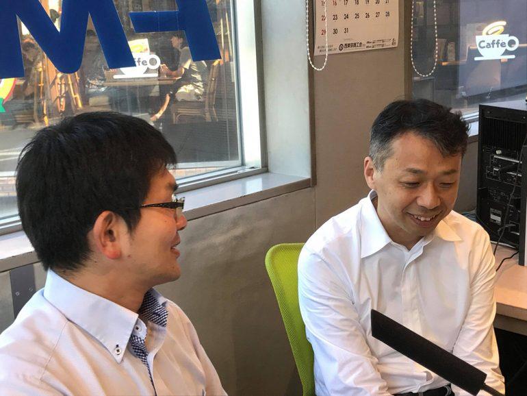 松岡さん、遠藤康浩 先生