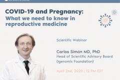 新型コロナウィルス(COVID-19)の妊娠・妊婦への影響に関するウェビナー